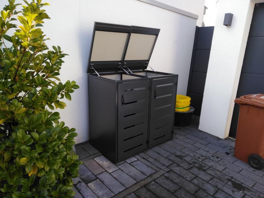 Gut bekannt DidexStahl - 4er Mülltonnenbox für 240L Mülltonnen JS57